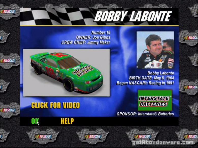 3-D Ultra NASCAR Pinball High Quality Background on Wallpapers Vista