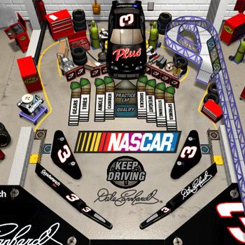 3-D Ultra NASCAR Pinball #13