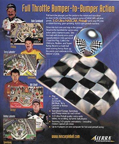 3-D Ultra NASCAR Pinball #11