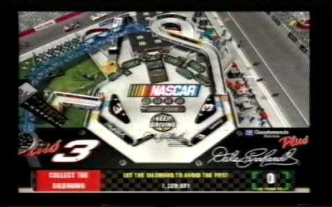 3-D Ultra NASCAR Pinball #19