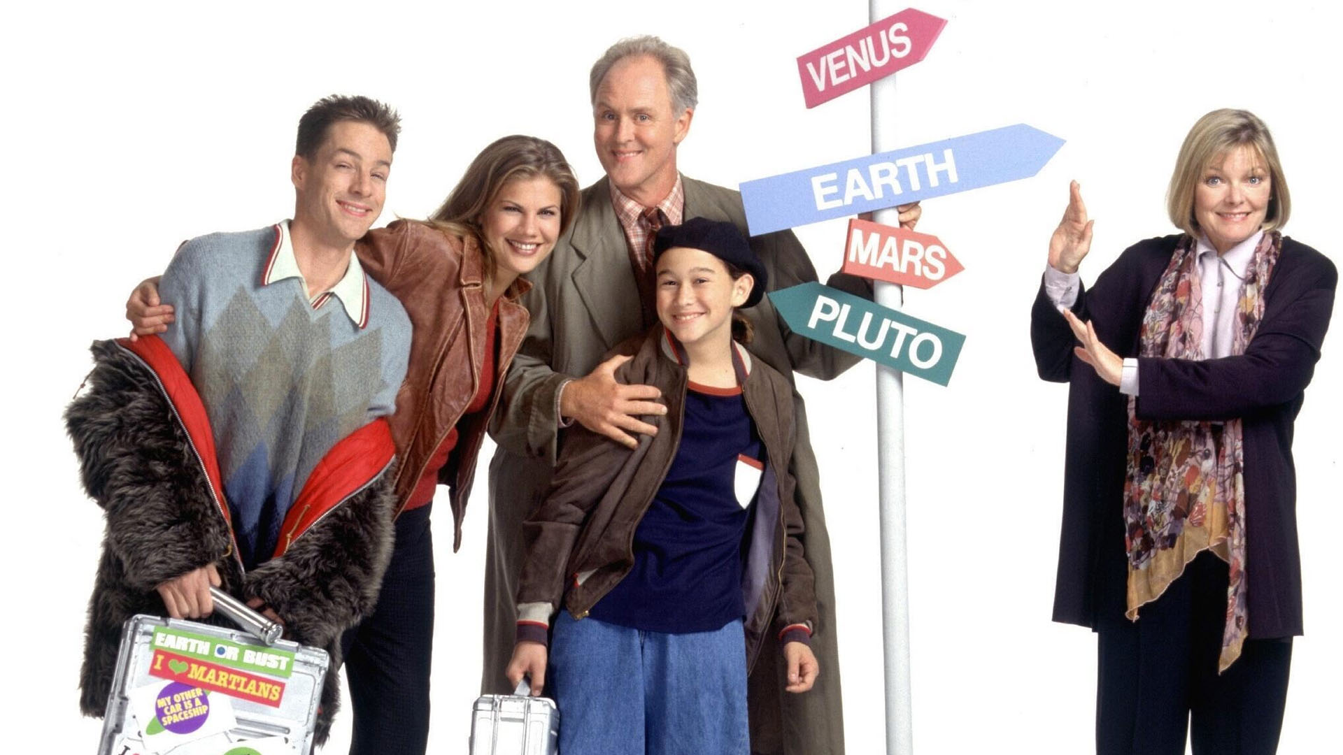 Nice Images Collection: 3rd Rock From The Sun Desktop Wallpapers