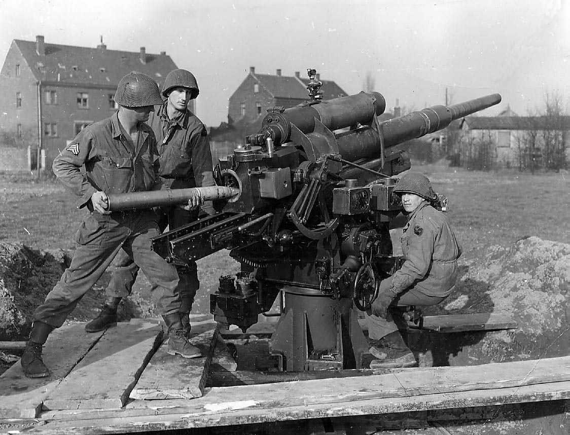 88mm Flak Pics, Military Collection