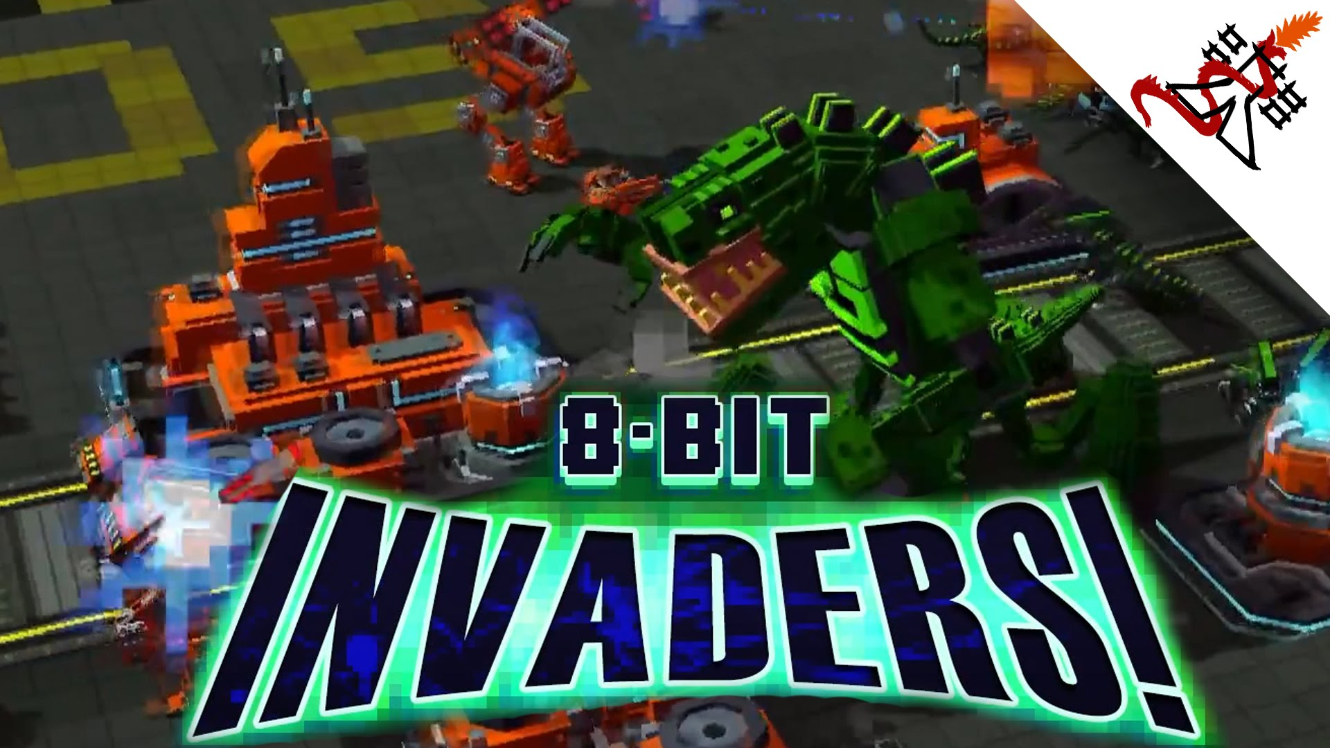 High Resolution Wallpaper   8-Bit Invaders! 1920x1080 px