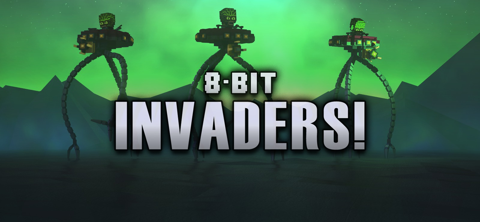 HD Quality Wallpaper | Collection: Video Game, 1600x740 8-Bit Invaders!