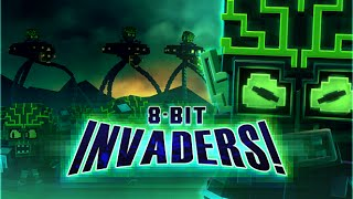 8-Bit Invaders! Backgrounds, Compatible - PC, Mobile, Gadgets| 320x180 px
