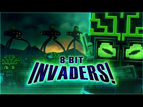 8-Bit Invaders! Pics, Video Game Collection