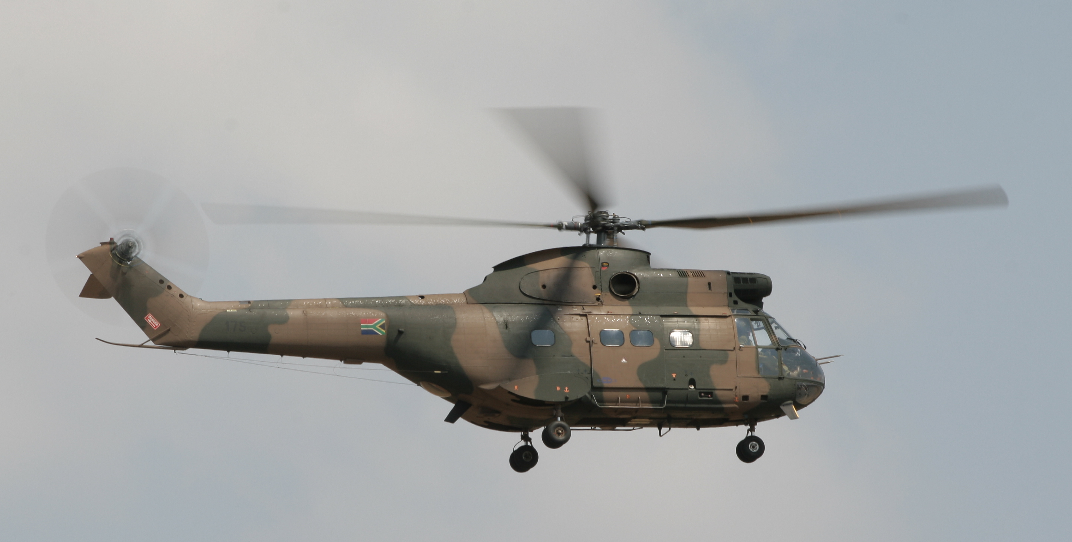 Aérospatiale SA 330 Puma Pics, Military Collection