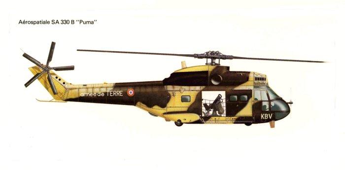 High Resolution Wallpaper | Aérospatiale SA 330 Puma 700x345 px