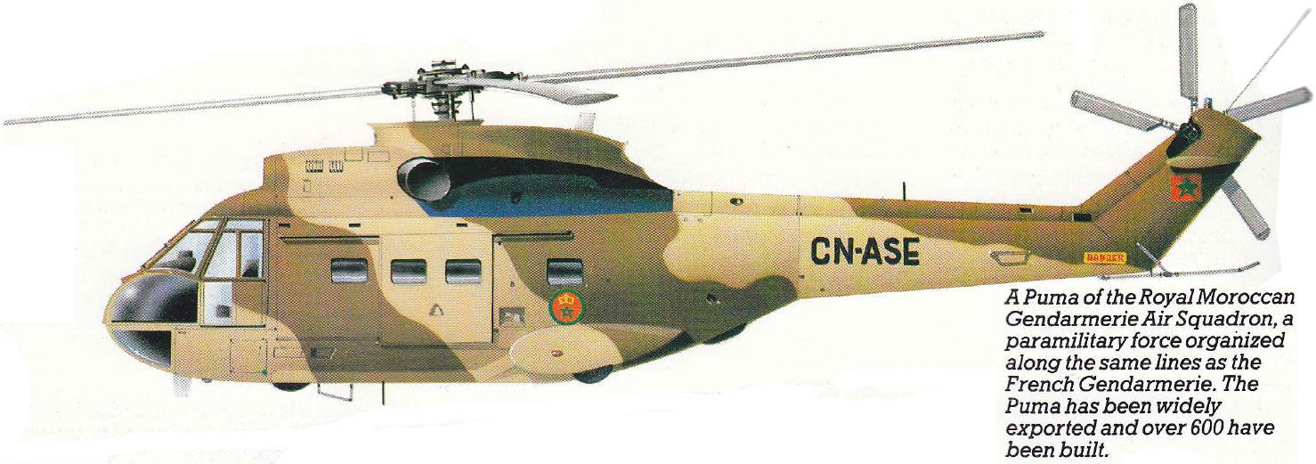 Nice Images Collection: Aérospatiale SA 330 Puma Desktop Wallpapers