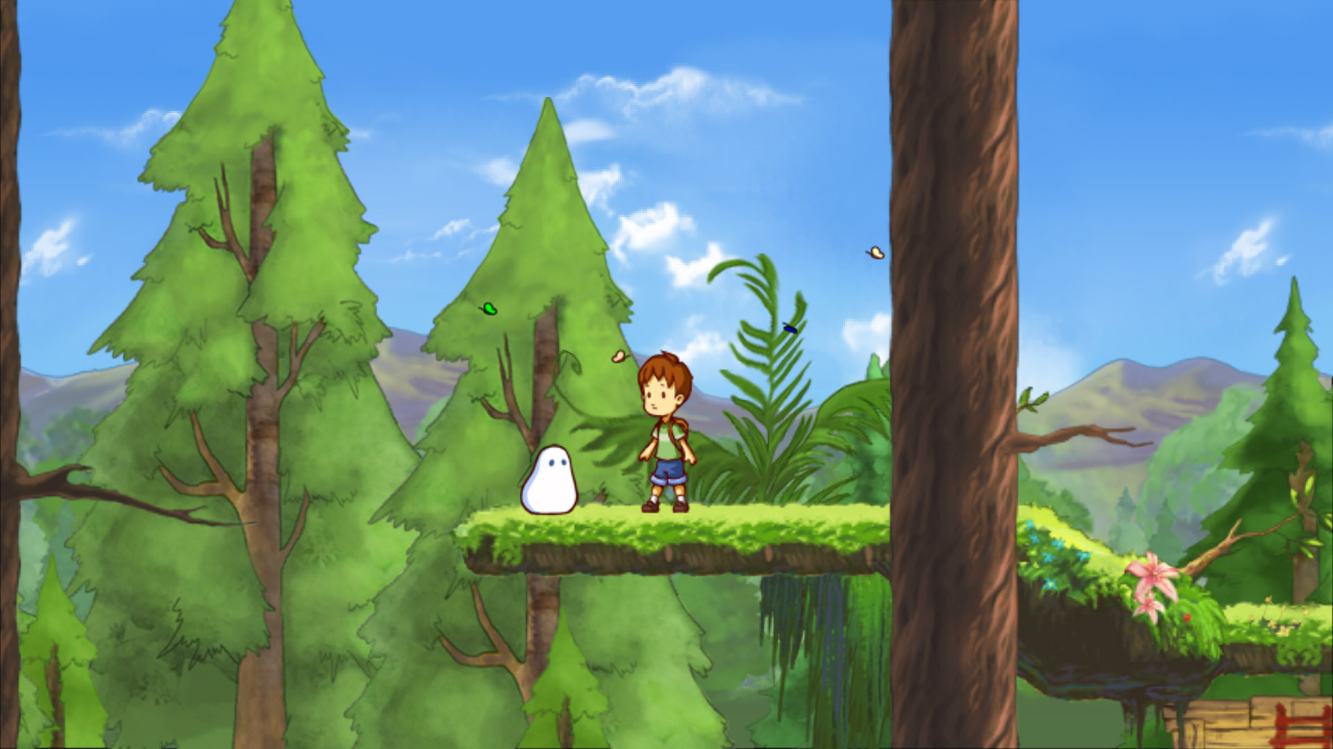 A Boy And His Blob High Quality Background on Wallpapers Vista