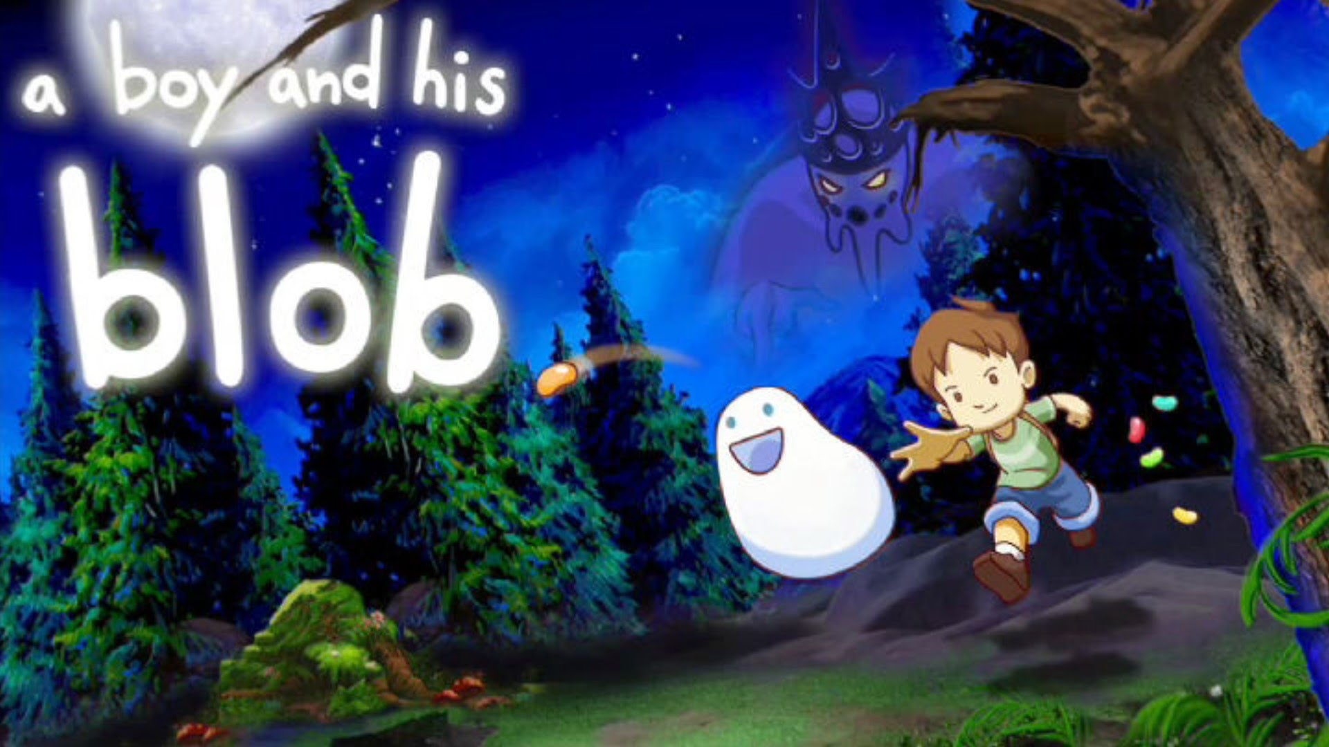 A Boy And His Blob Backgrounds, Compatible - PC, Mobile, Gadgets| 1920x1080 px