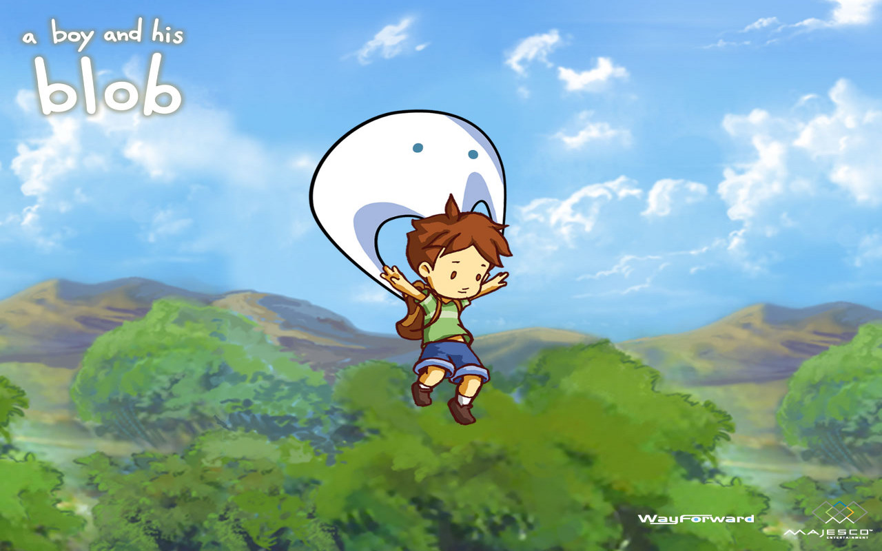 High Resolution Wallpaper | A Boy And His Blob 1280x800 px