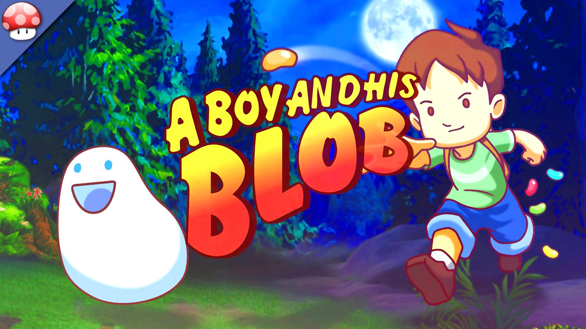 HD Quality Wallpaper | Collection: Video Game, 1920x1080 A Boy And His Blob
