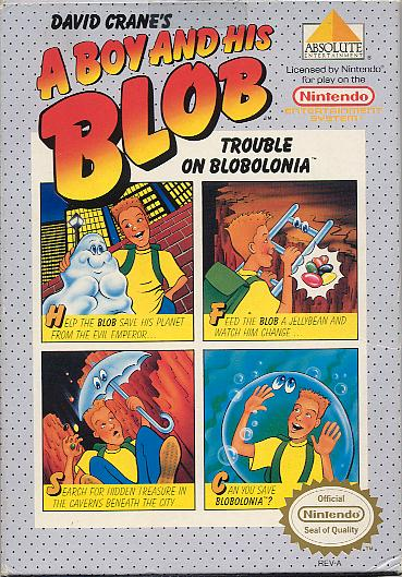 A Boy And His Blob #15