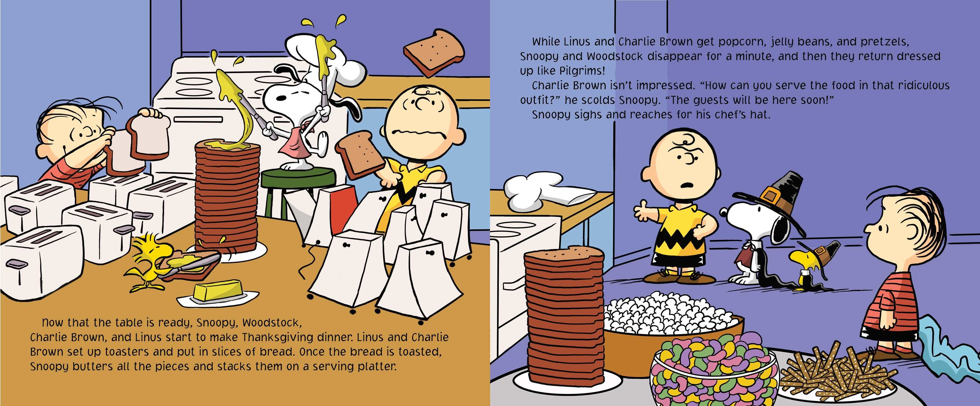 Nice wallpapers A Charlie Brown Thanksgiving 3376x1400px
