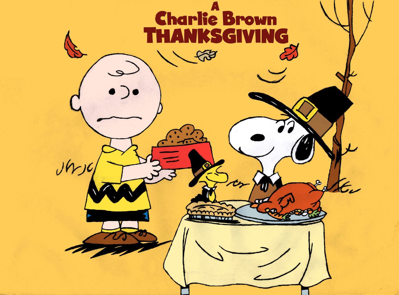 Nice wallpapers A Charlie Brown Thanksgiving 1617x1195px
