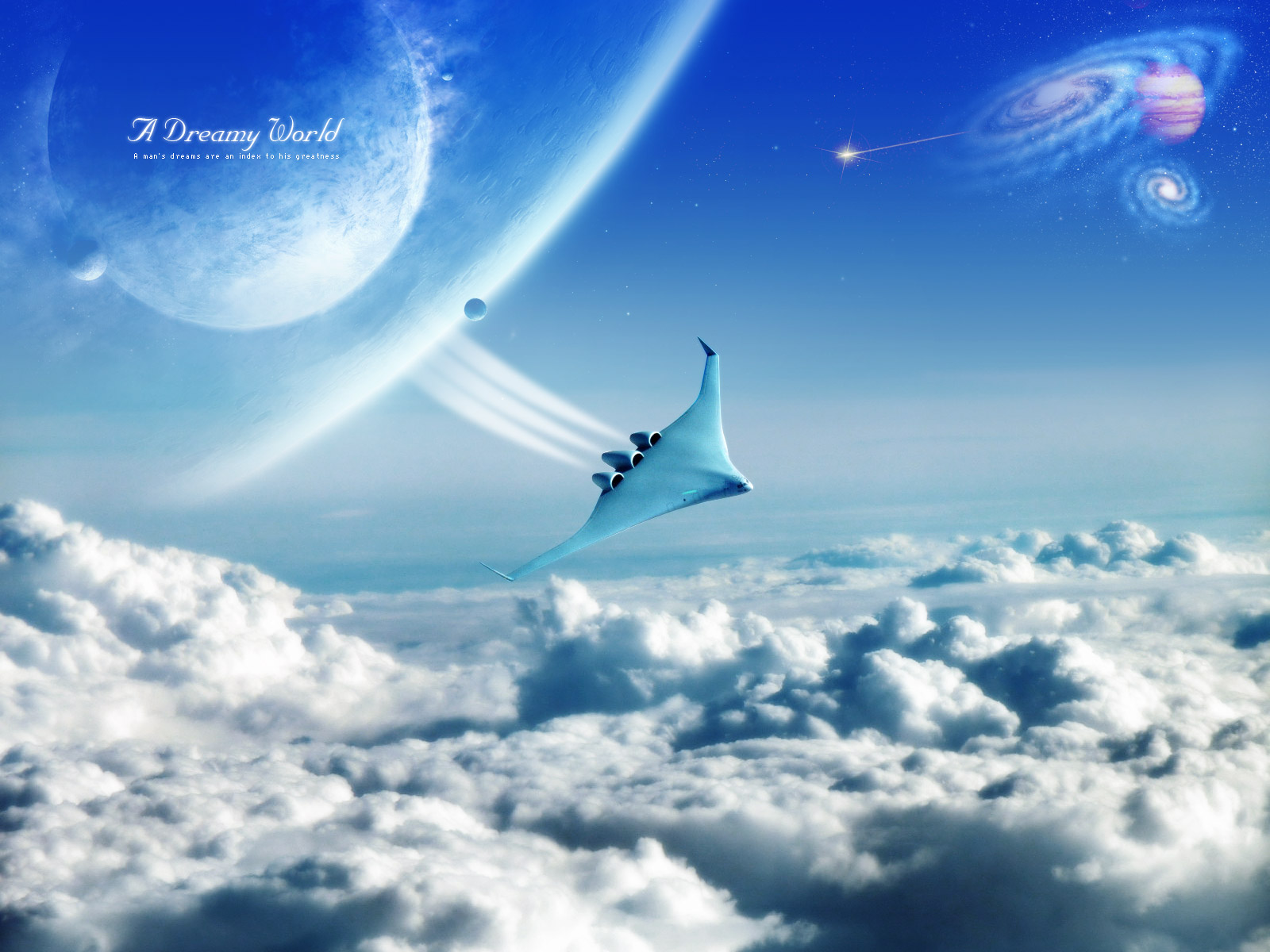Nice wallpapers A Dreamy World 1600x1200px