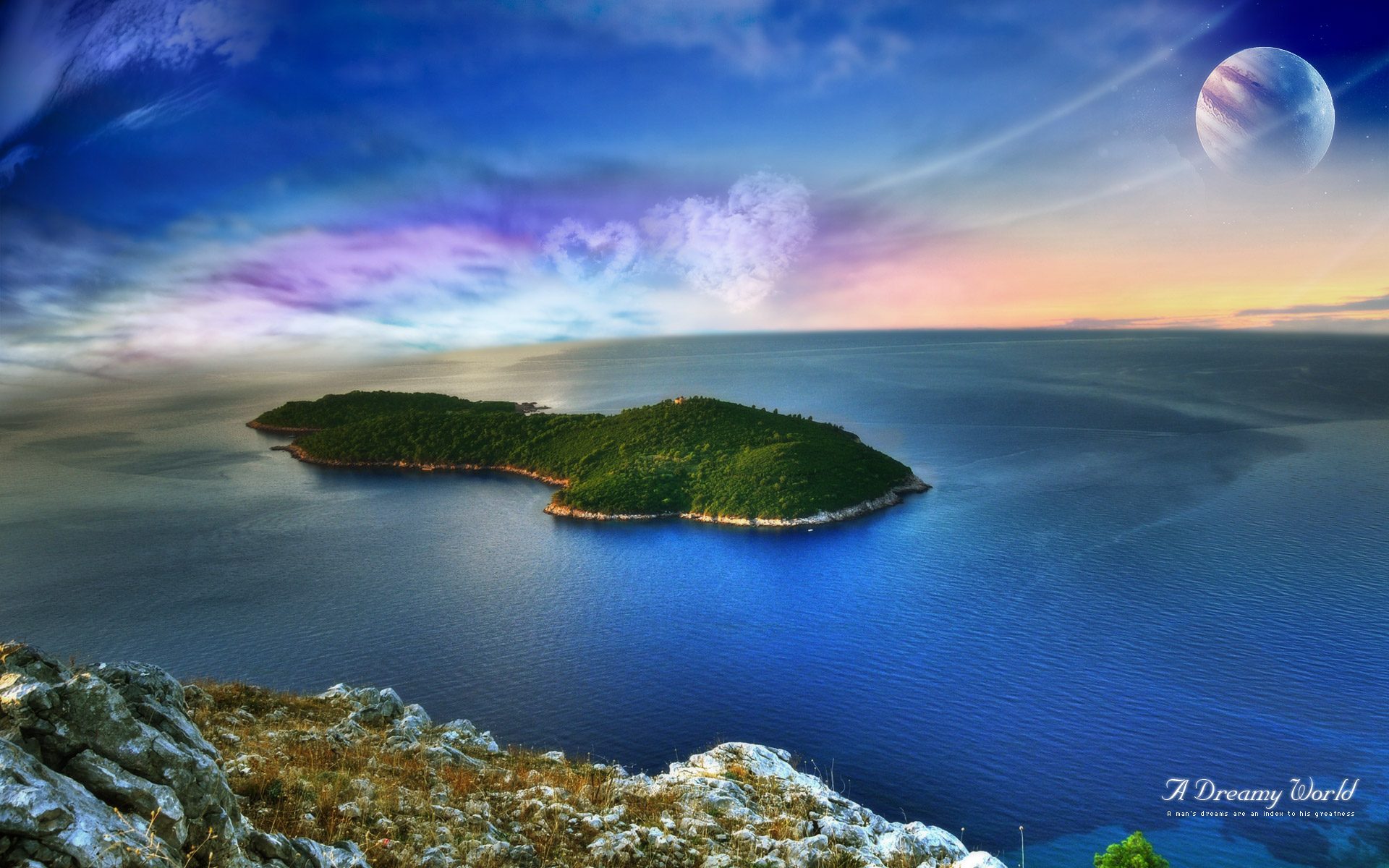 Amazing A Dreamy World Pictures & Backgrounds