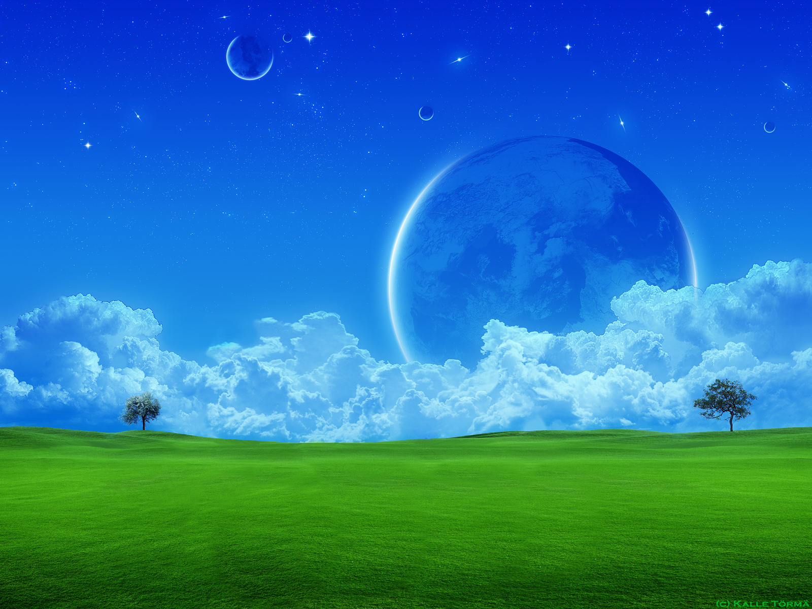 A Dreamy World Backgrounds on Wallpapers Vista