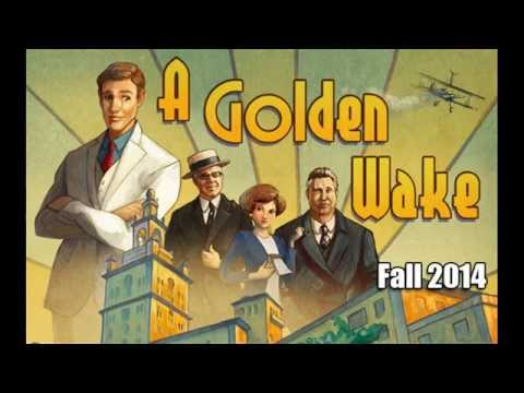 Nice Images Collection: A Golden Wake Desktop Wallpapers
