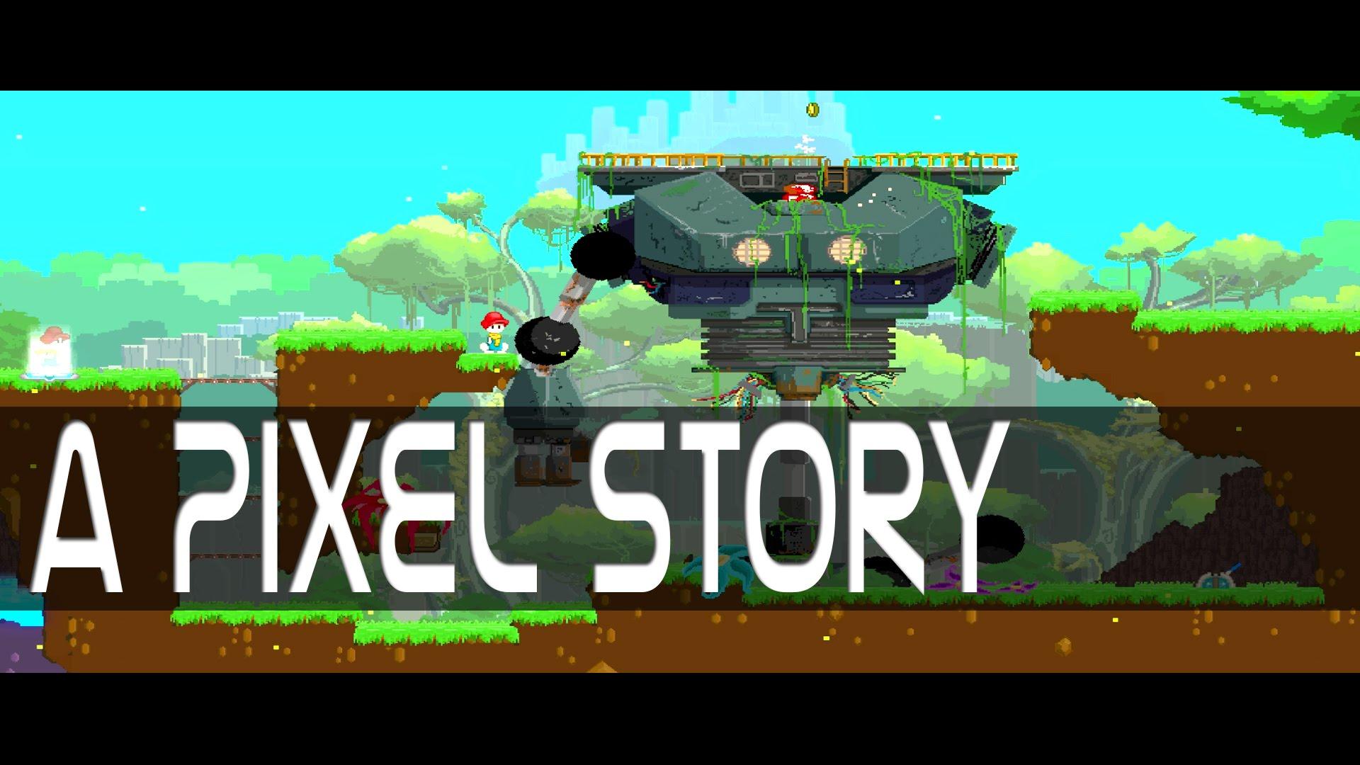 HD Quality Wallpaper   Collection: Video Game, 1920x1080 A Pixel Story