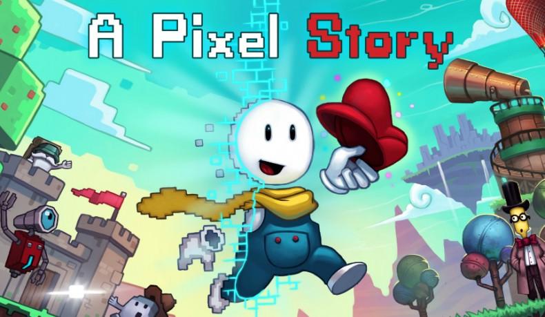 A Pixel Story Backgrounds, Compatible - PC, Mobile, Gadgets  790x459 px