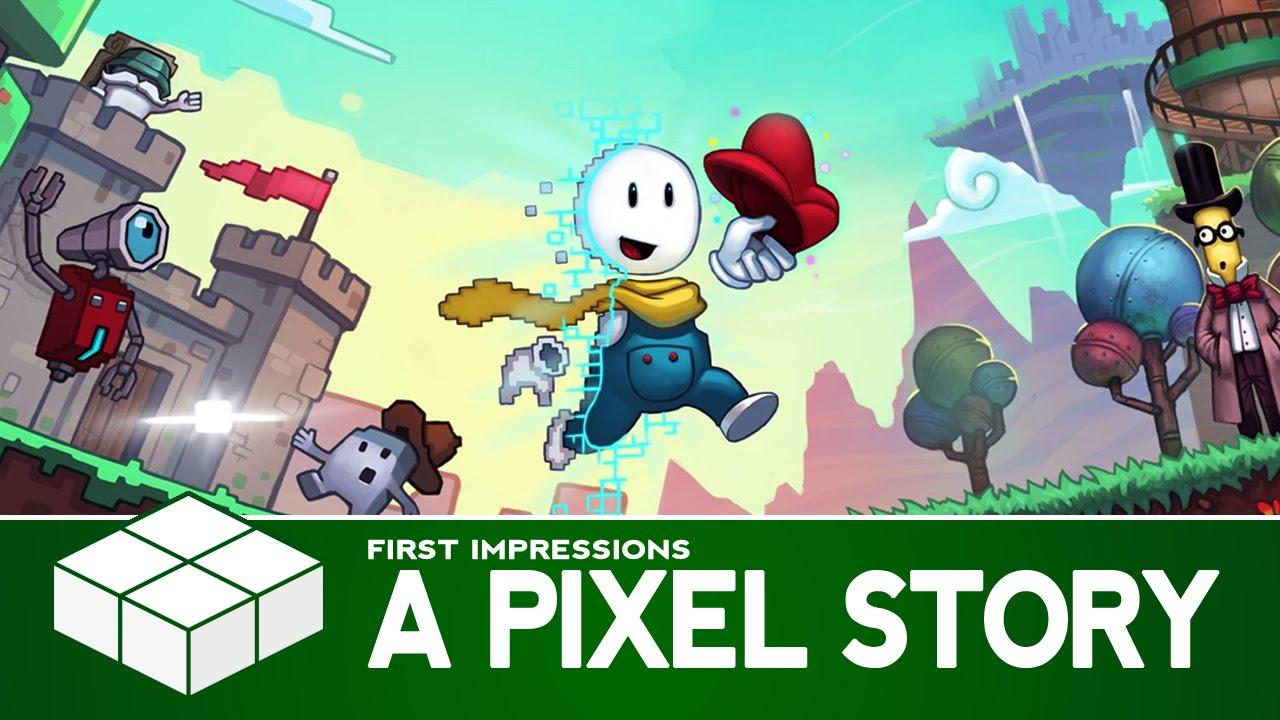 A Pixel Story Backgrounds, Compatible - PC, Mobile, Gadgets  1280x720 px