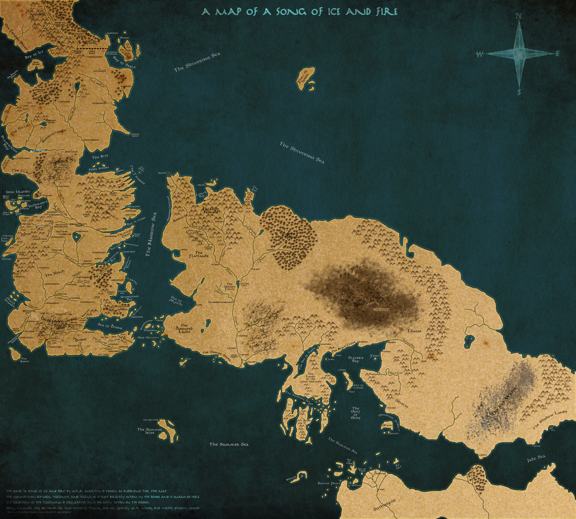 A Song Of Ice And Fire #9