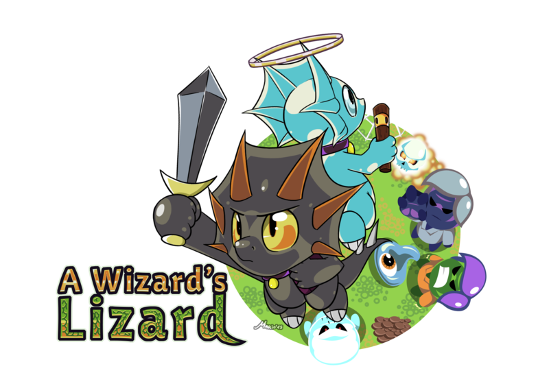 A Wizard's Lizard Backgrounds on Wallpapers Vista