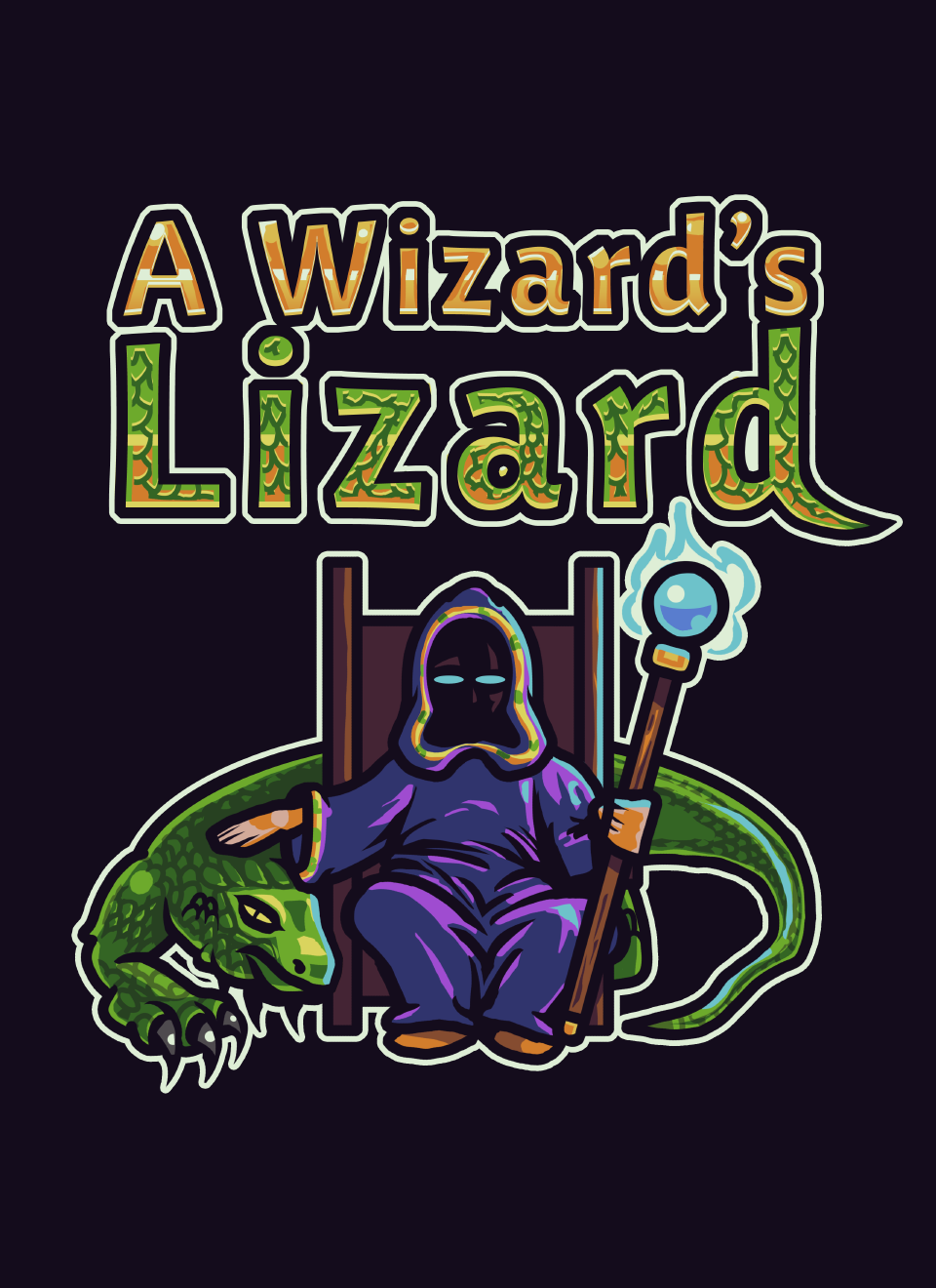 HQ A Wizard's Lizard Wallpapers   File 351.1Kb