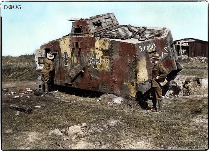 A7V Pics, Military Collection