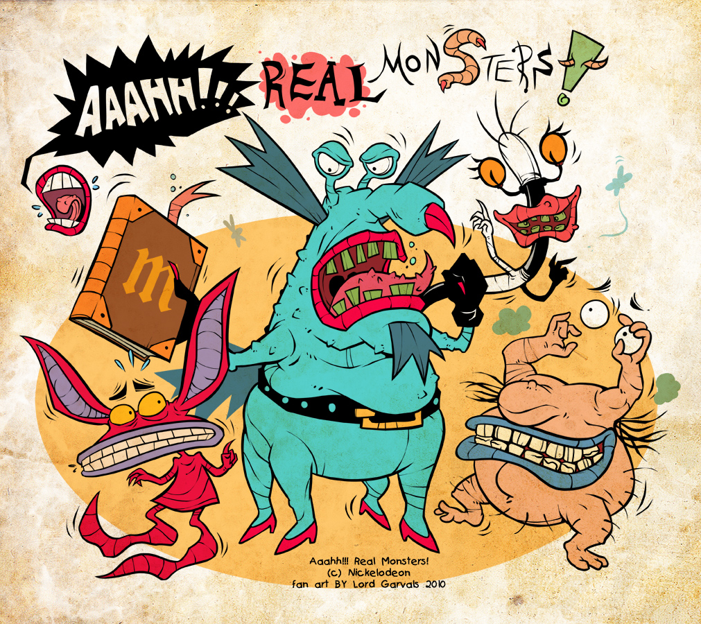 Aaahh!!! Real Monsters Pics, Cartoon Collection