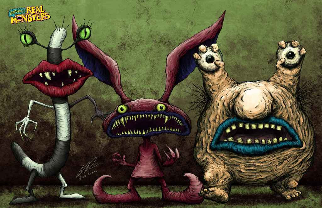 Aaahh!!! Real Monsters Backgrounds, Compatible - PC, Mobile, Gadgets| 1024x663 px