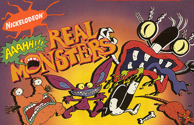 Nice Images Collection: Aaahh!!! Real Monsters Desktop Wallpapers