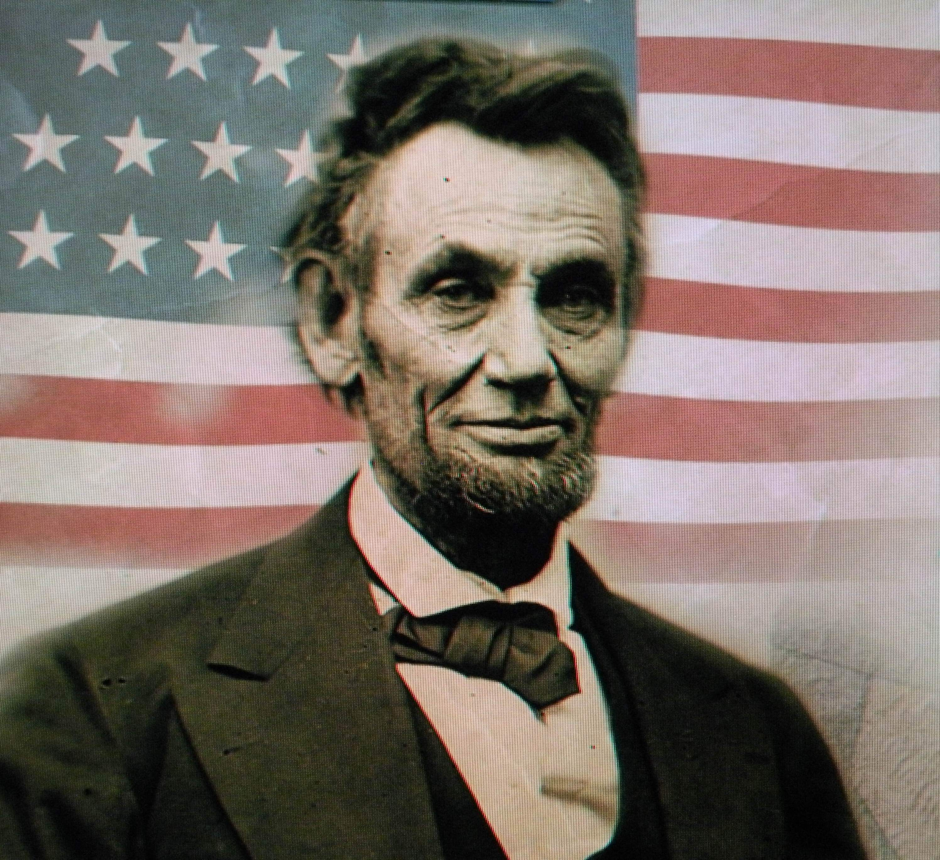HD Quality Wallpaper | Collection: Men, 2992x2736 Abraham Lincoln