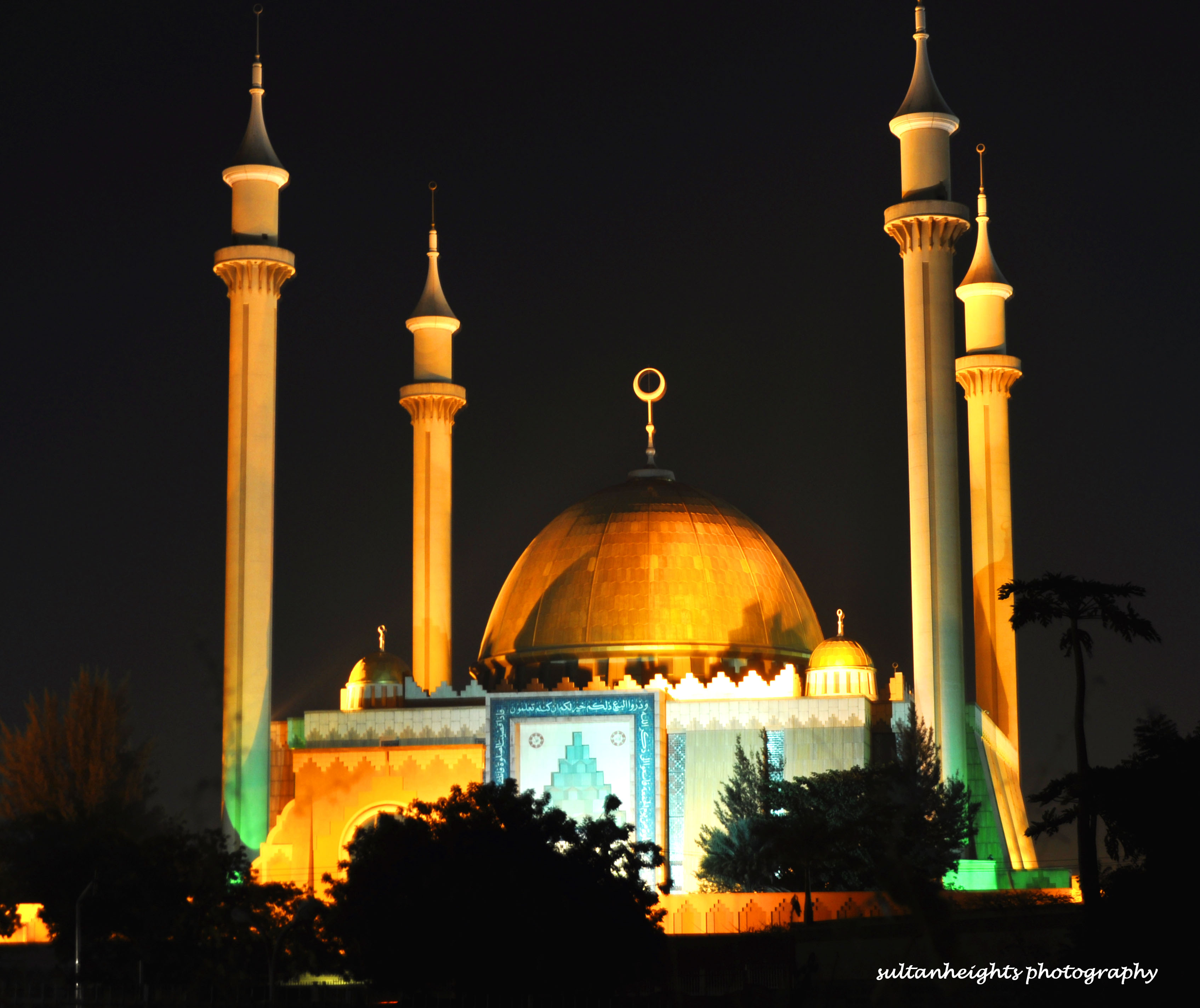 Abuja National Mosque Backgrounds, Compatible - PC, Mobile, Gadgets| 3389x2848 px