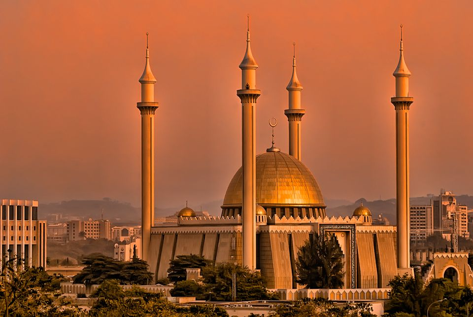 Nice wallpapers Abuja National Mosque 960x643px