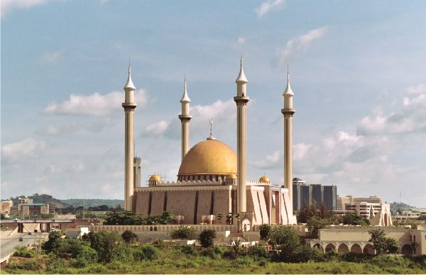 High Resolution Wallpaper | Abuja National Mosque 600x388 px