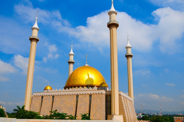 Nice Images Collection: Abuja National Mosque Desktop Wallpapers