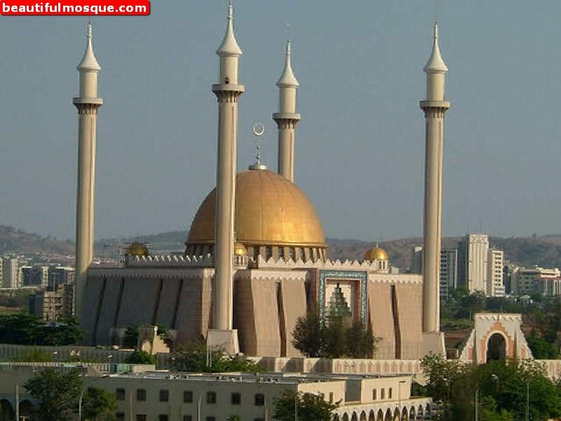 Abuja National Mosque High Quality Background on Wallpapers Vista