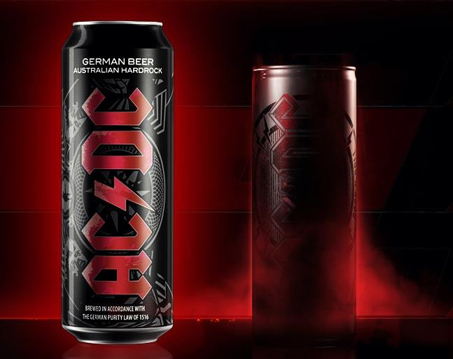 High Resolution Wallpaper   AC DC Beer 647x512 px
