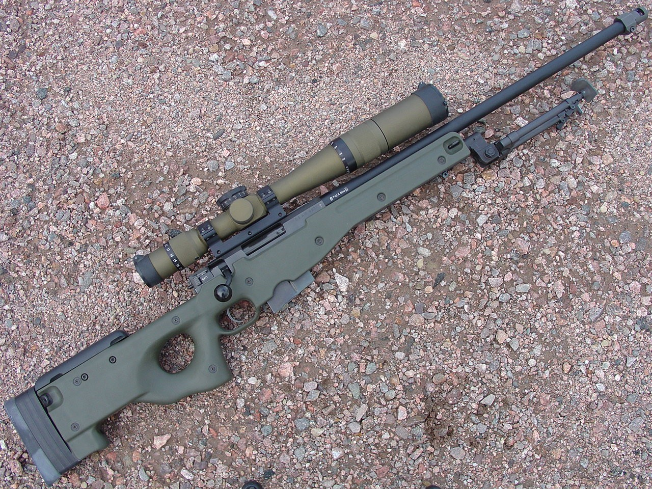 Nice wallpapers Accuracy International Aw 338 Sniper Rifle 1280x960px