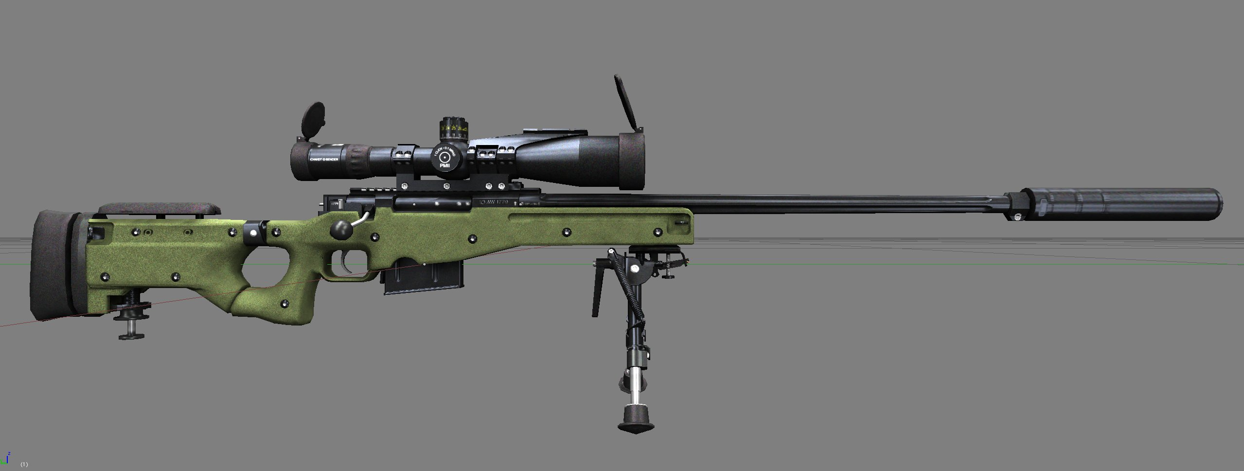 Nice Images Collection: Accuracy International Aw 338 Sniper Rifle Desktop Wallpapers
