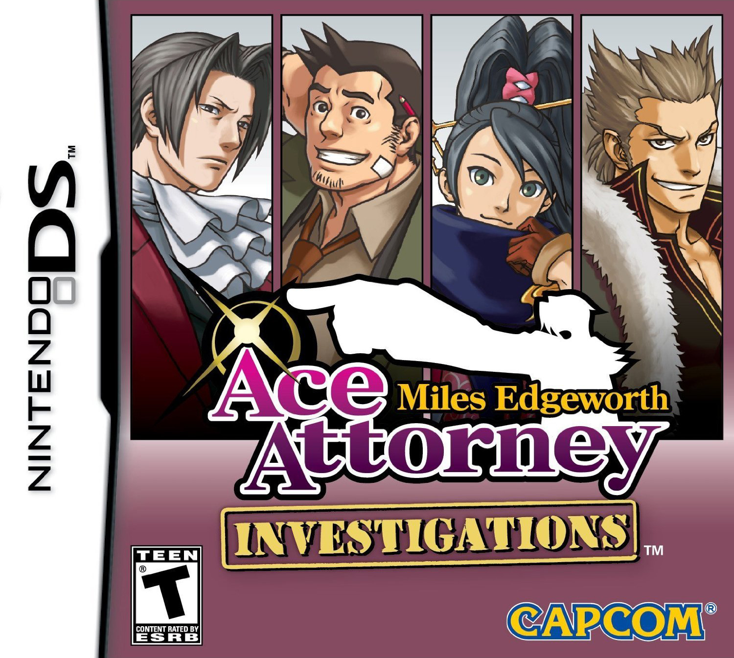 Images of Ace Attorney Investigations: Miles Edgeworth | 1500x1345