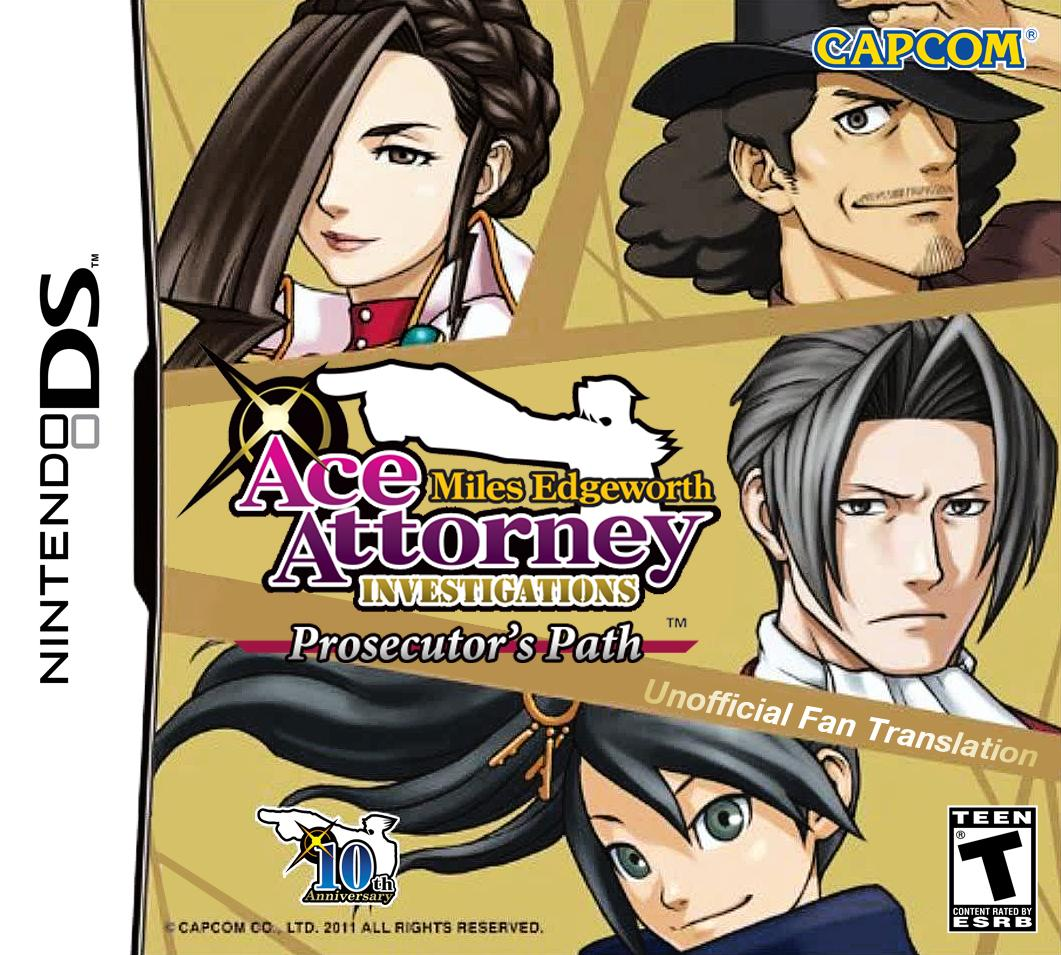 Nice wallpapers Ace Attorney Investigations: Miles Edgeworth 1061x955px