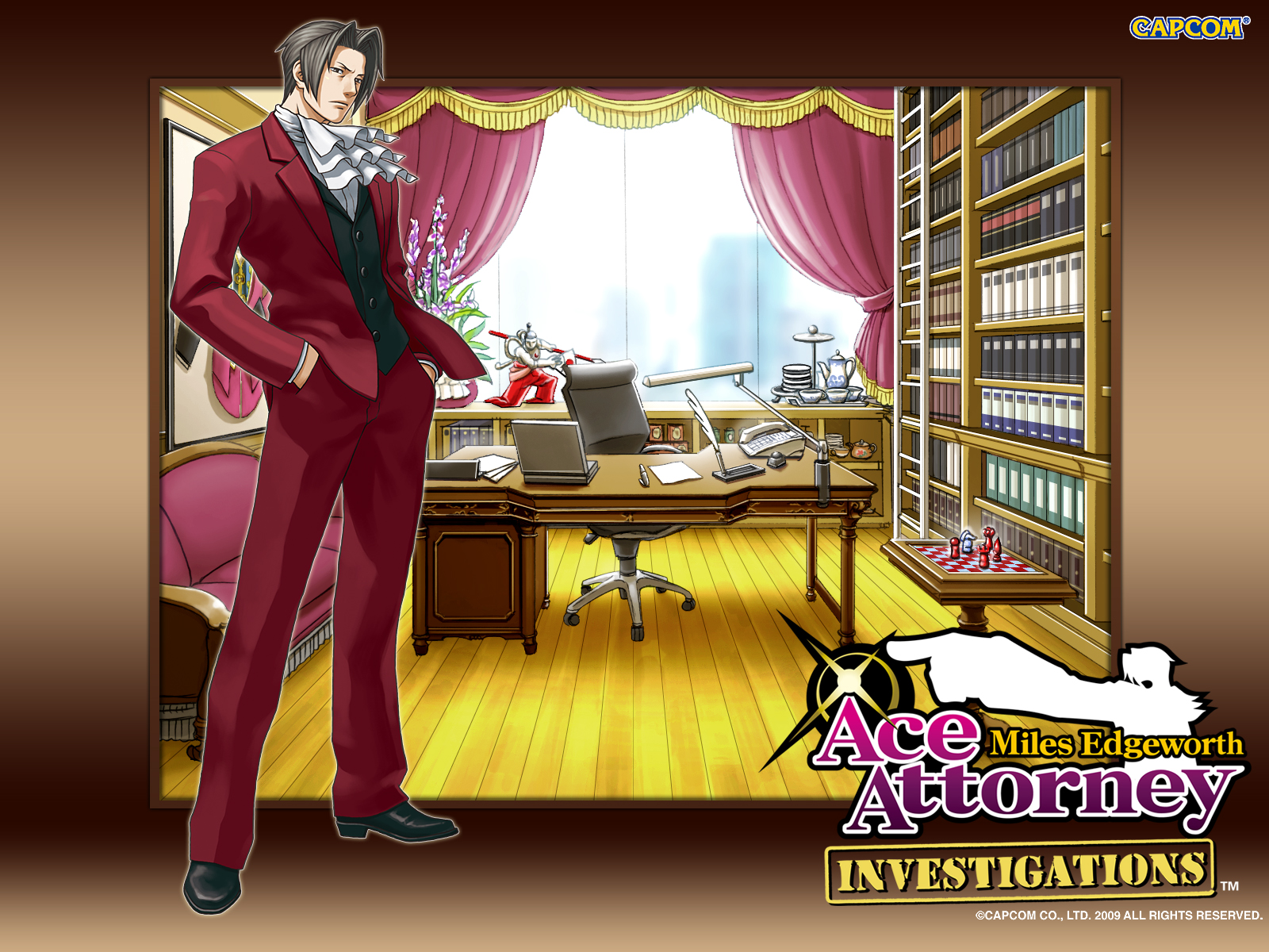 Ace Attorney Investigations: Miles Edgeworth High Quality Background on Wallpapers Vista