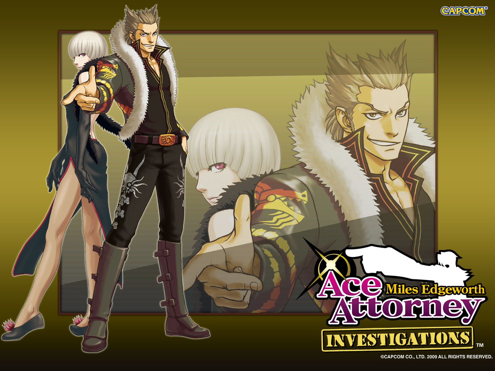 Amazing Ace Attorney Investigations: Miles Edgeworth Pictures & Backgrounds