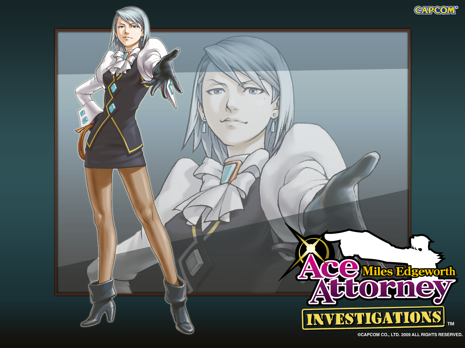 Images of Ace Attorney Investigations: Miles Edgeworth | 1600x1200