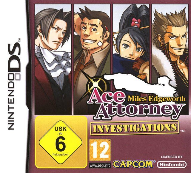 640x582 > Ace Attorney Investigations: Miles Edgeworth Wallpapers
