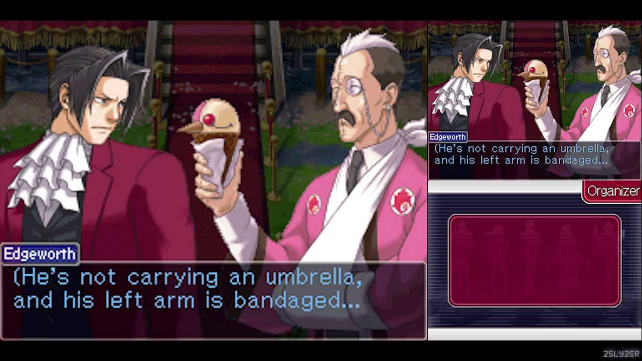 HD Quality Wallpaper | Collection: Video Game, 1280x720 Ace Attorney Investigations: Miles Edgeworth
